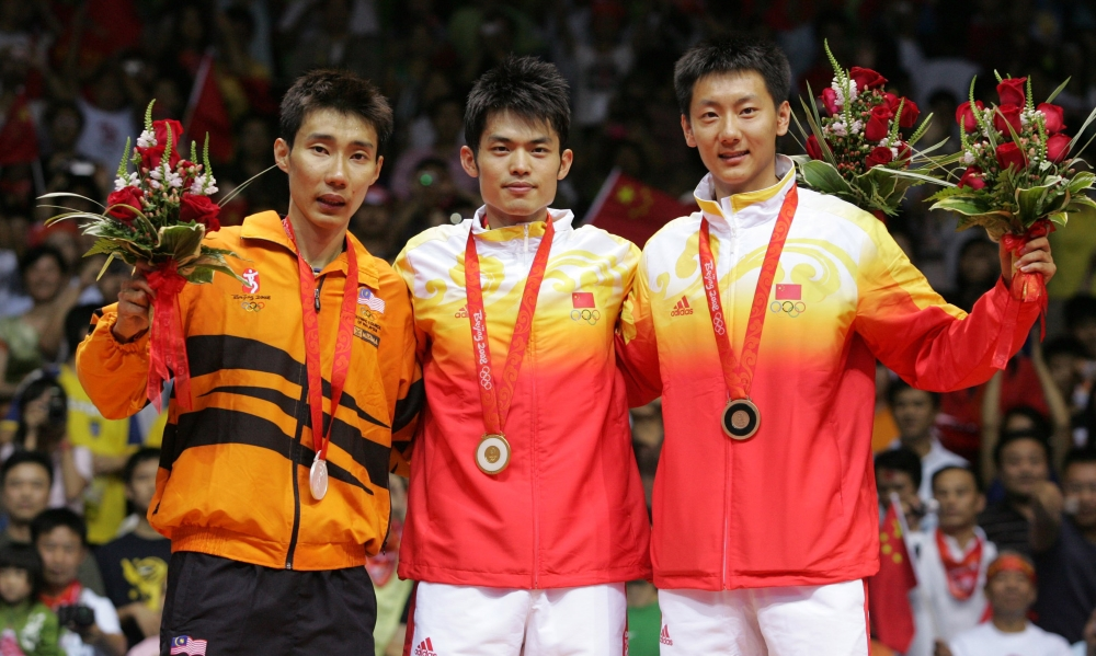 Beijing 2008_Podium_Men's Singles