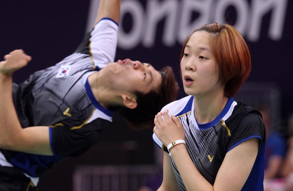 Lee Yong Dae & Ha Jung Eun
