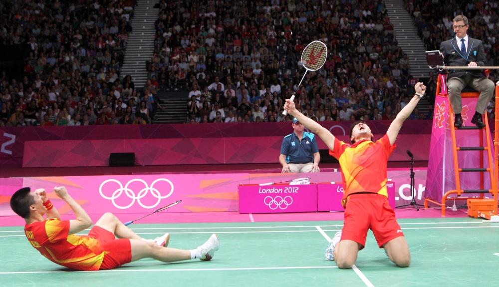 Cai Yun & Fu Haifeng_winning moment