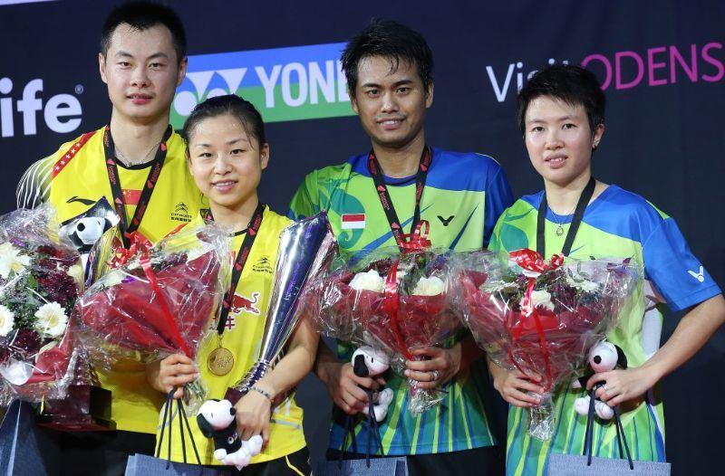 Denmark Open 2014_day6_Mixed Doubles podium
