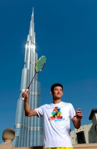Destination Dubai_Chen Long at Khalifa