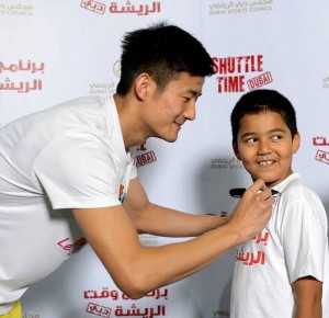 Destination Dubai_Chen Long autograph