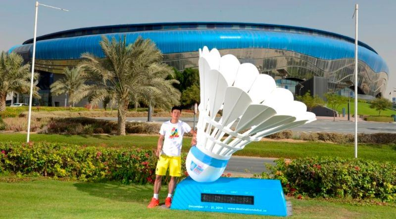Destination Dubai_Chen Long countdown clock