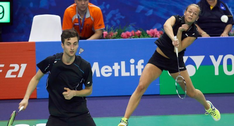 French Open 2014_day3_Jacco Arends & Selena Piek