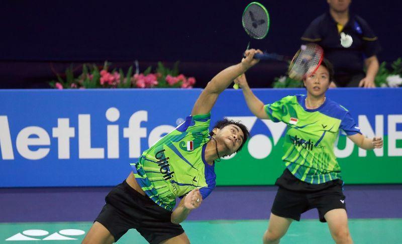 French Open 2014_day5_Tontowi Ahmad & Liliyana Natsir