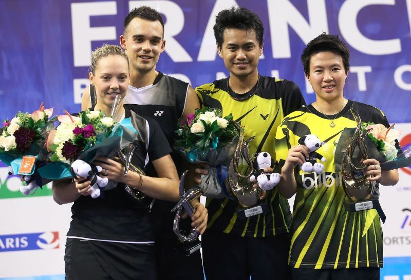 French Open 2014_day6_Mixed Doubles podium