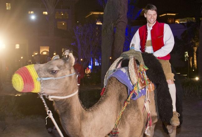 Gala_Fuchs on camel