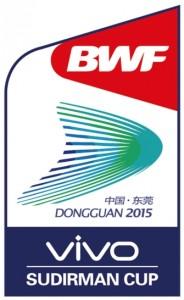 2015 Sudirman Cup logo-v