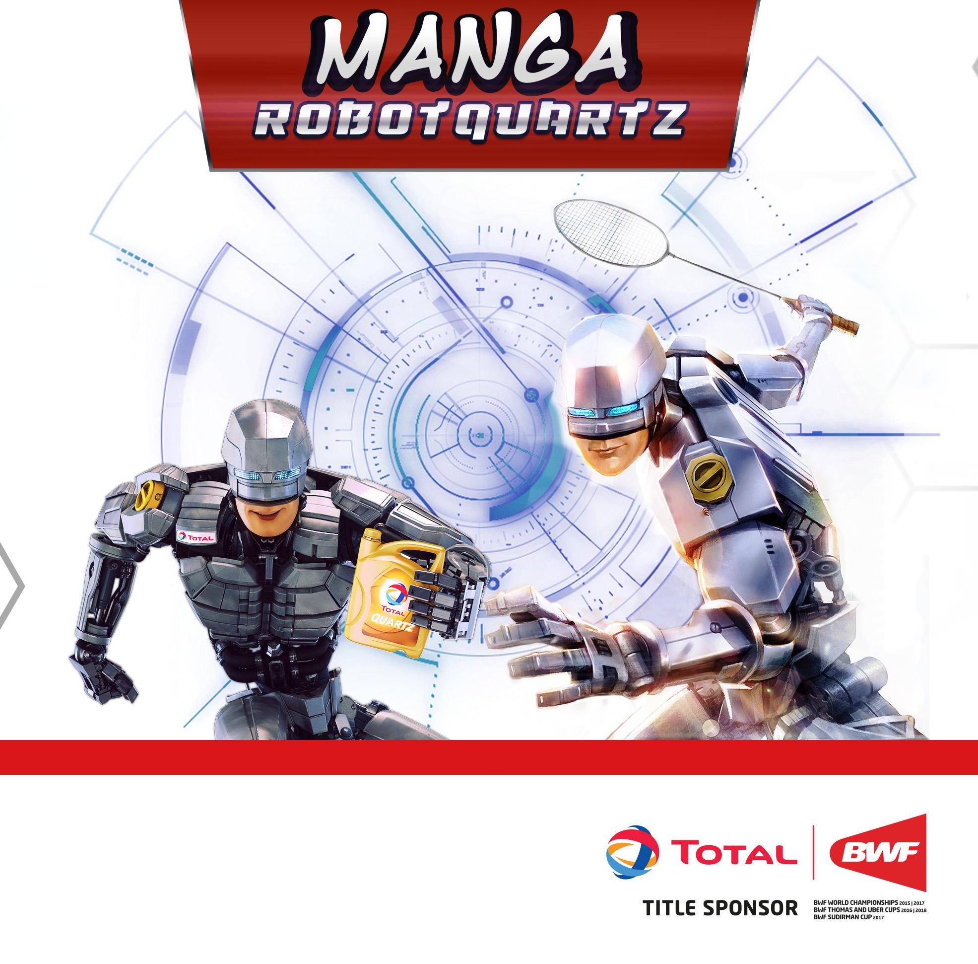 Manga RobotQuartz Contest