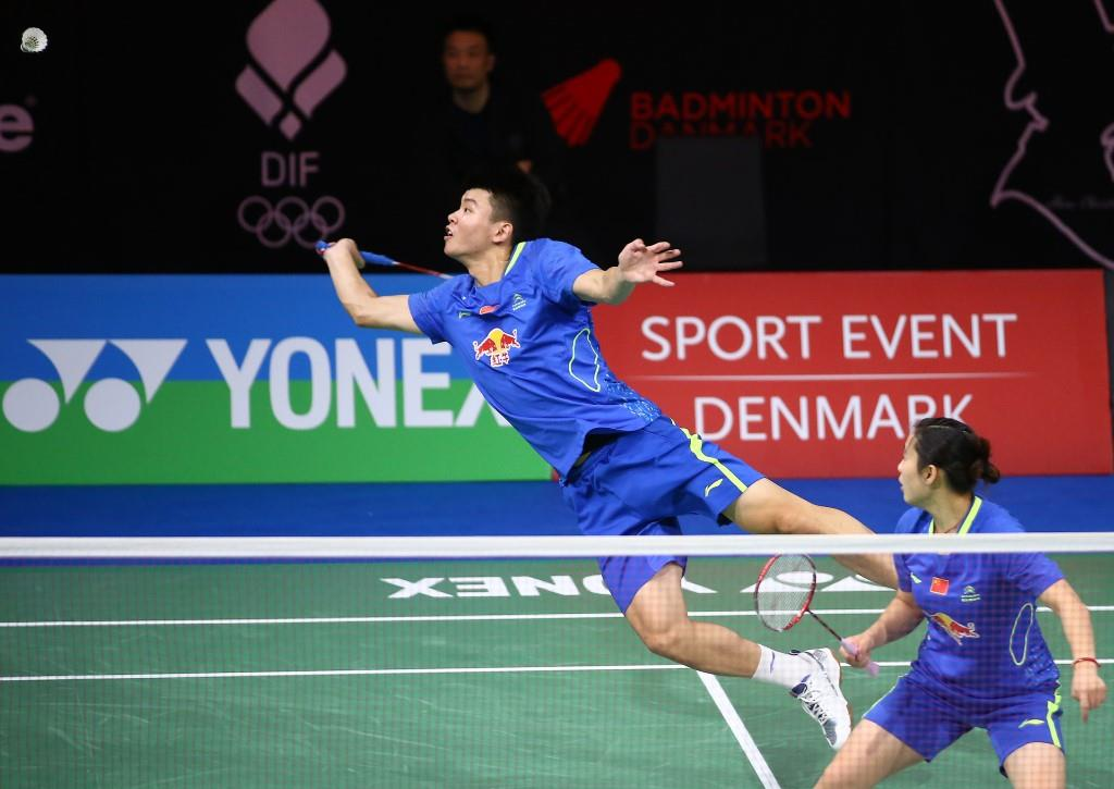Denmark Open 2015 - Day 1 - Wang Yilv & Luo Yu of China