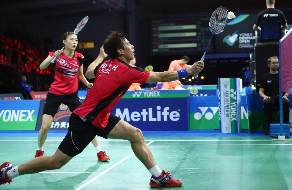 Denmark Open 2015 - Day 4 - Ko Sung Hyun & Kim Ha Na of Korea