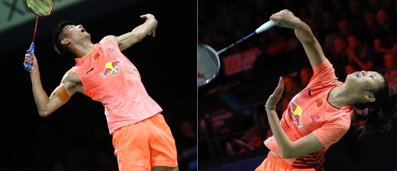 Denmark Open 2015 - Day 5 - Chen Long & Li Xuerui of China