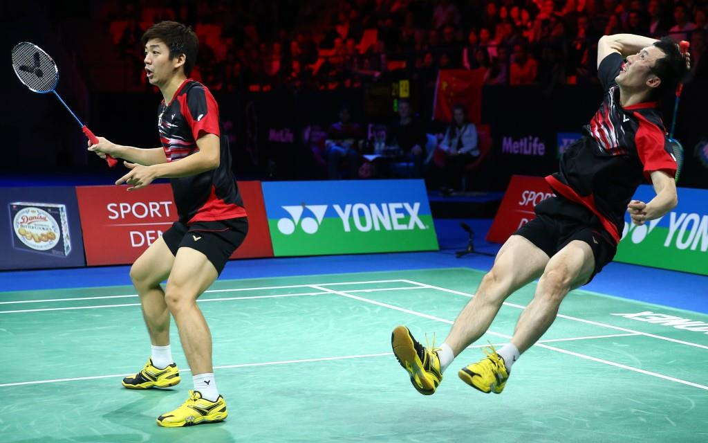 Denmark Open 2015 - Day 6 - Lee Yong Dae & Yoo Yeon Seong of Korea