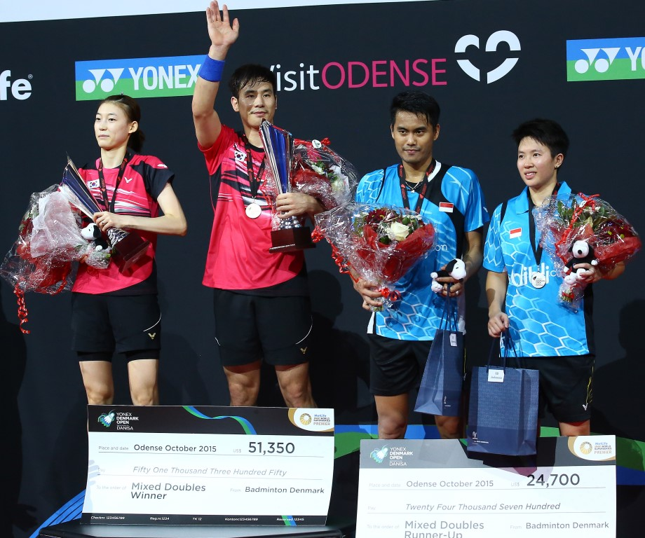 Denmark Open 2015 - Day 6 - Mixed Doubles presentation