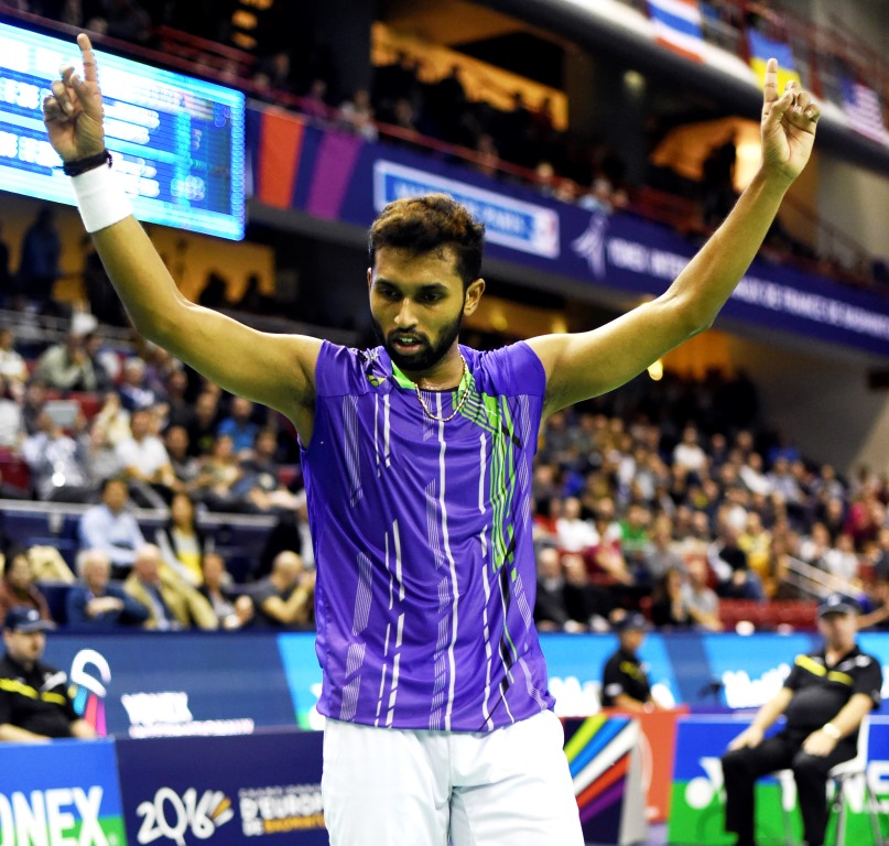 French Open 2015 - Day 2 - HS Prannoy of India
