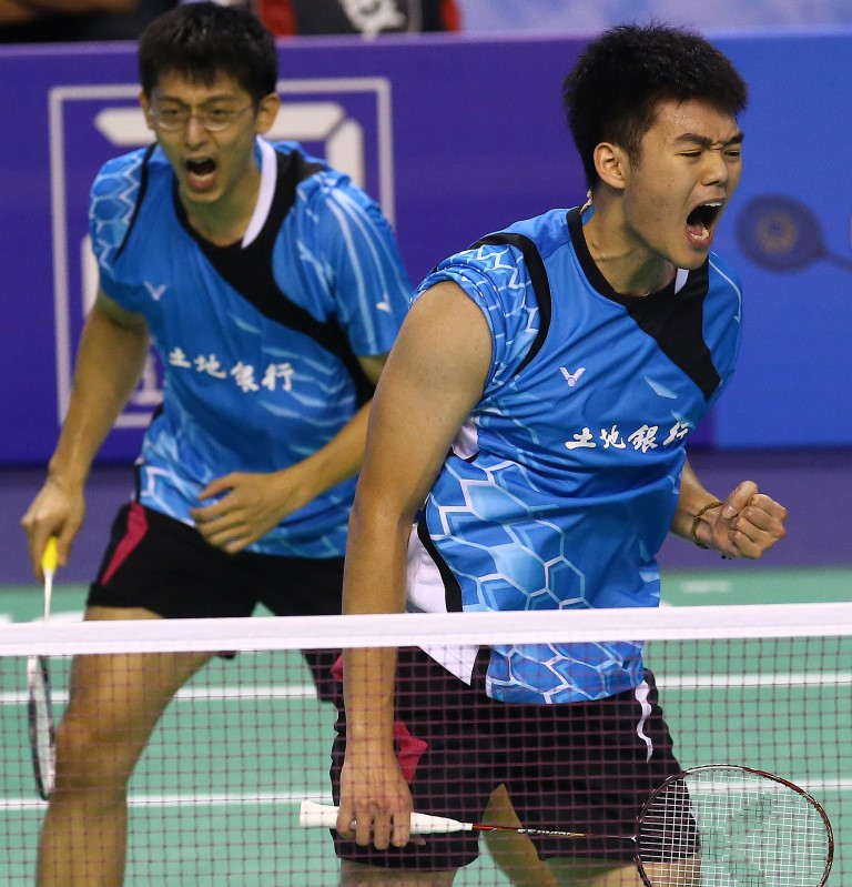 French Open 2015 - Day 3 - Chen Hung Ling & Wang Chi-Lin of Chinese Taipei