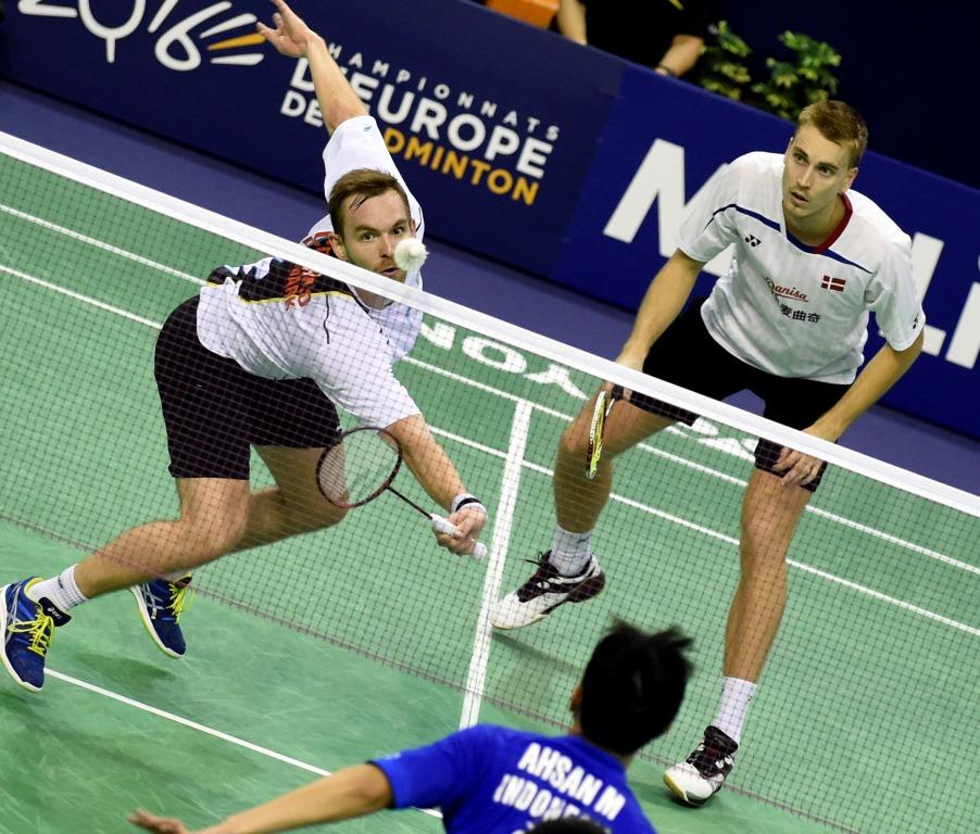 French Open 2015 - Day 5 - Mads Conrad-Petersen & Mads Pieler Kolding of Denmark