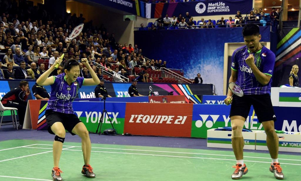 French Open 2015 - Day 5 - Praveen Jordan & Debby Susanto of Indonesia