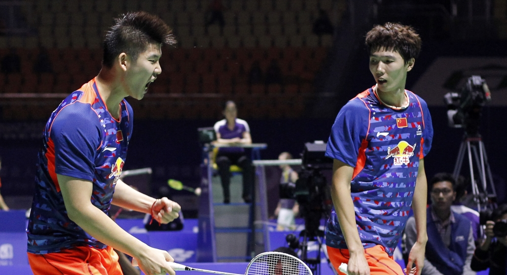 Li Junhui & Liu Yuchen (China)