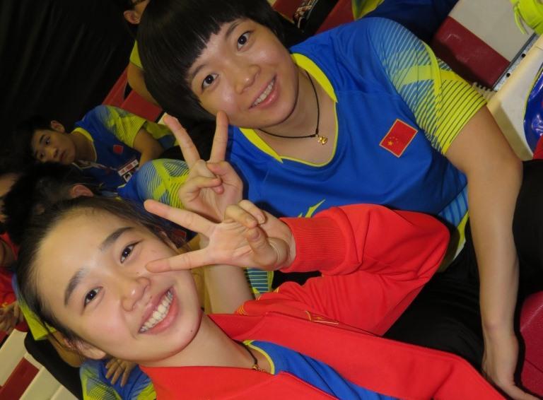 Suhandinata Cup - Day 1 - China