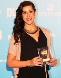 Carolina Marin_award