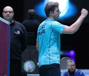 All England 2015 - Day 1 - Brice Leverdez of France