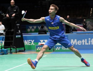 All England 2016 - Day 2 - Lee Chong Wei of Malaysia