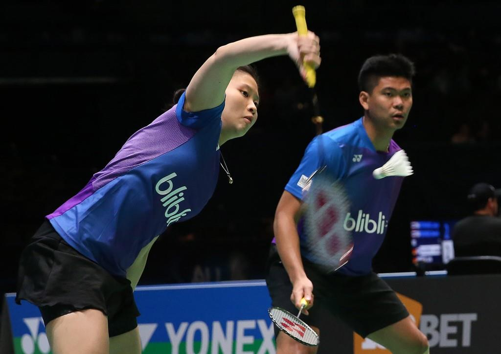 All England 2016 - Day 2 - Praveen Jordan & Debby Susanto of Indonesia