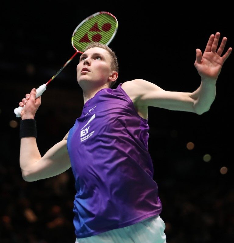 All England 2016 - Day 2 - Viktor Axelsen of Denmark