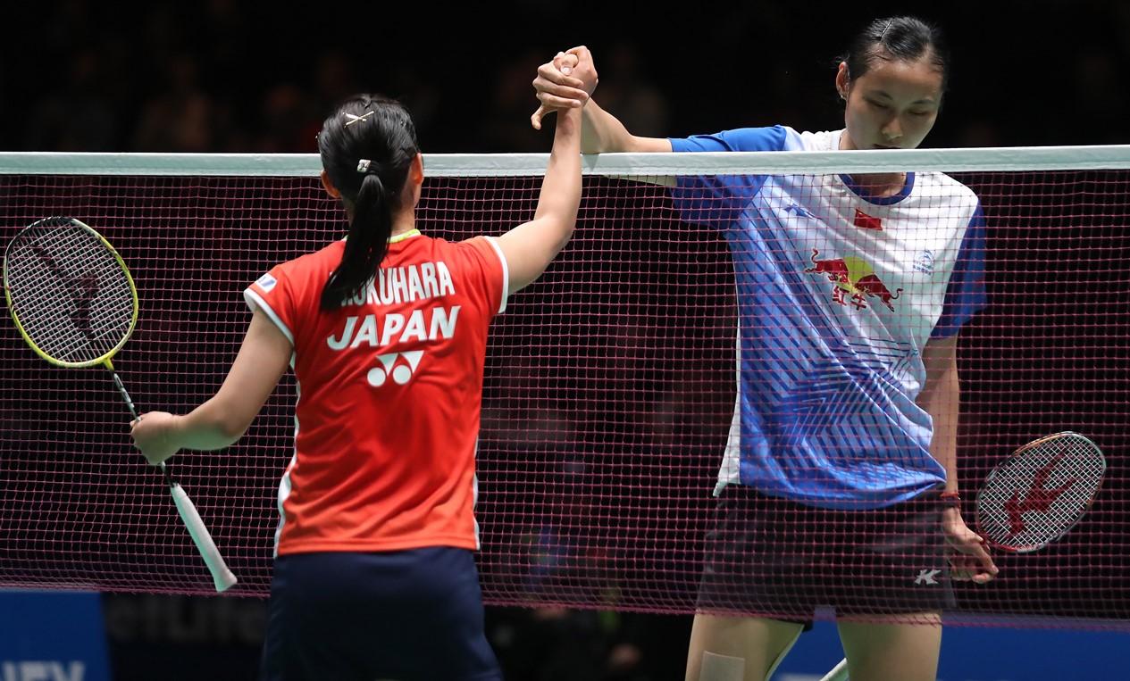 All England 2016 - Day 4 - Nozomi Okuhara & Wang Yihan