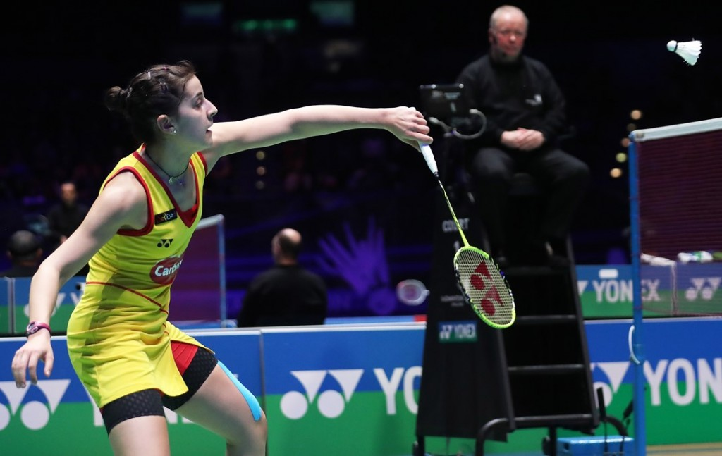All England 2016 - Day 5 - Carolina Marin of Spain
