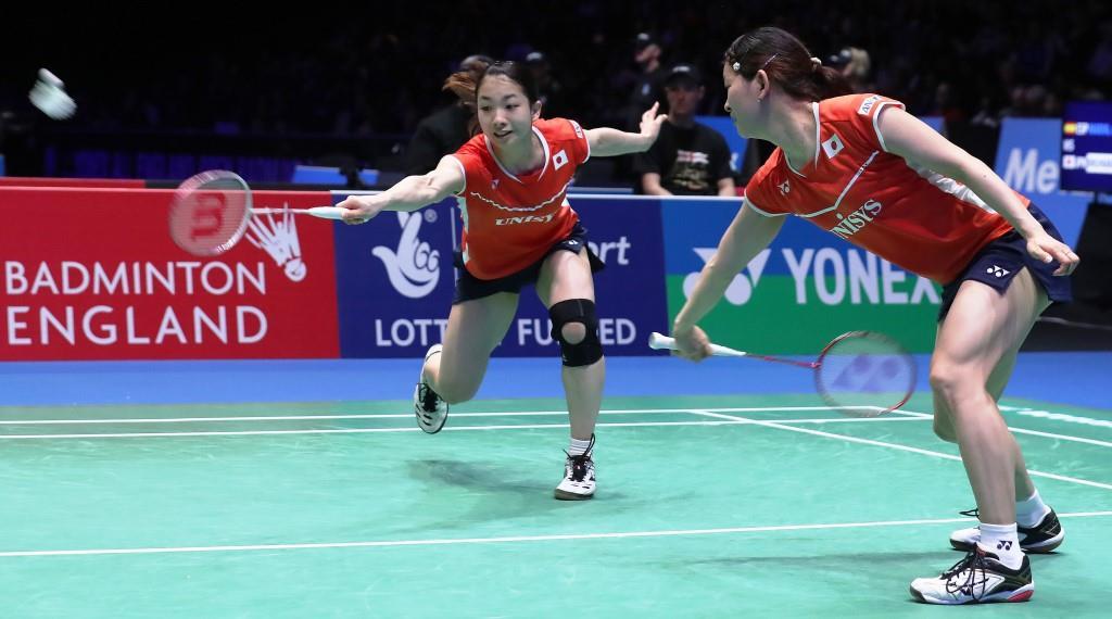 All England 2016 - Day 5 - Misaki Matsutomo & Ayaka Takahashi of Japan