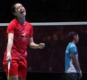 All England 2016 - Day 5 - Wang Shixian of China