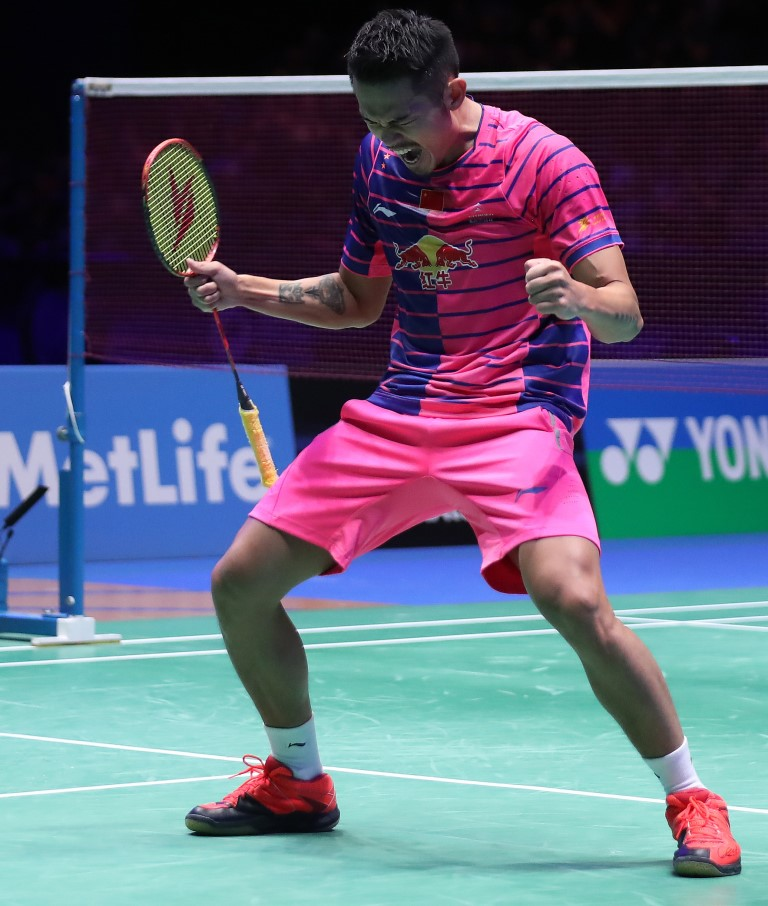 All England 2016 - Day 6 - Lin Dan of China 2
