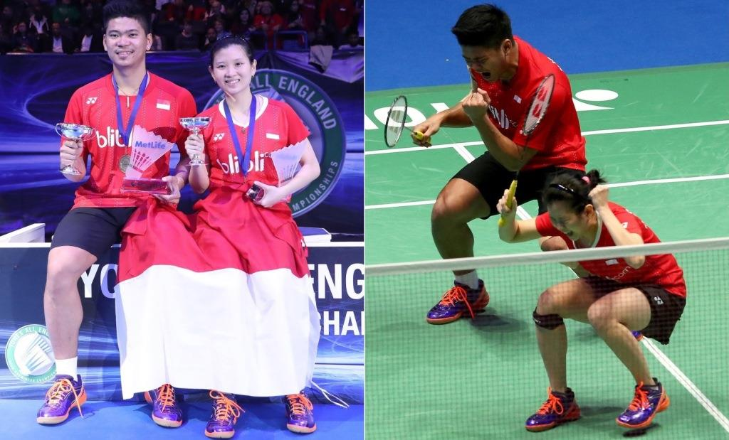 All England 2016 - Day 6 - Praveen Jordan & Debby Susanto of Indonesia