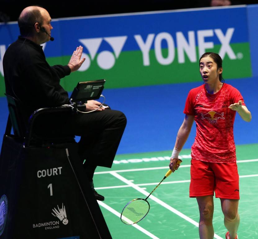 All England 2016 - Day 6 - Wang Shixian of China