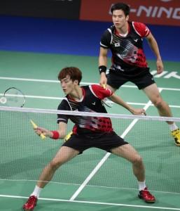 Ko Sung Hyun & Shin Baek Cheol of Korea