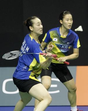 Asia Championships - Day 4 - Chang Ye Na & Lee So Hee of Korea
