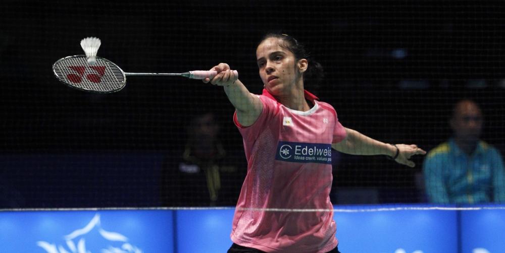 Asia Championships - Day 4 - Saina Nehwal of India