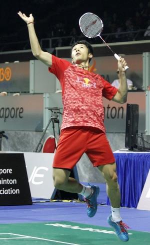 Asia Championships - Day 4 - Tian Houwei of China