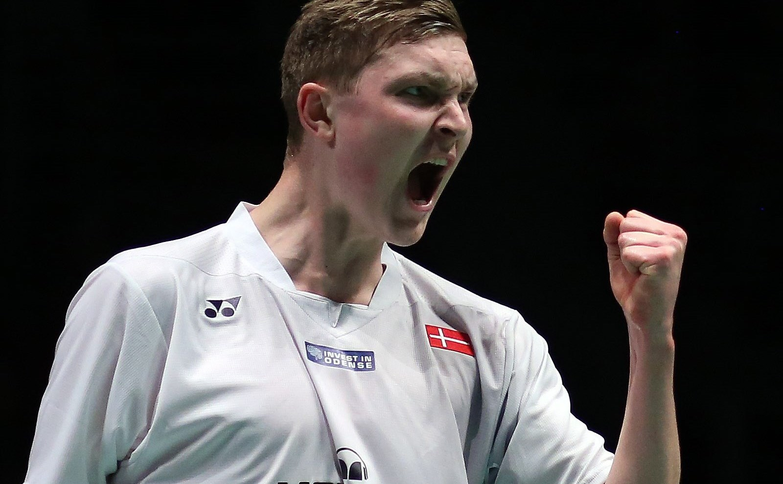 European Champs - Day 2 - Viktor Axelsen of Denmark
