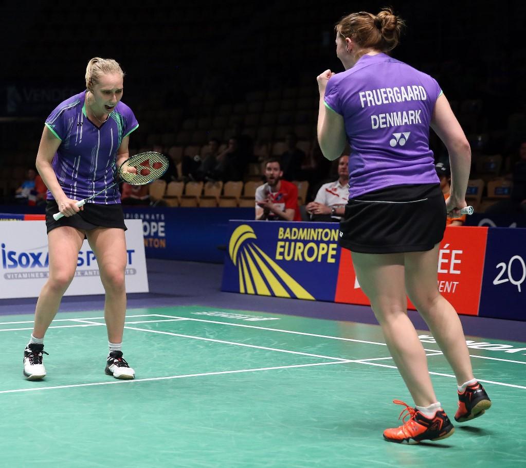 European Champs - Day 3 - Maiken Fruergaard & Sara Thygesen of Denmark