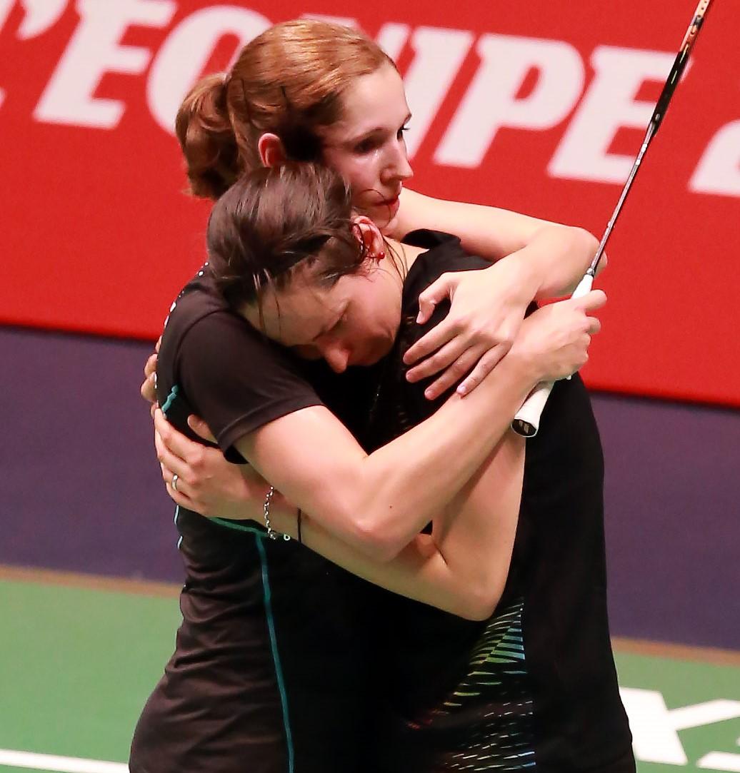 European Champs - Day 4 - Carla Nelte and Johanna Goliszewski of Germany