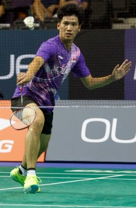 Singapore Open 2016 - Day 1 - Derek Wong of Singapore