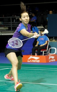 Singapore Open 2016 - Day 2 - Michelle Li of Canada