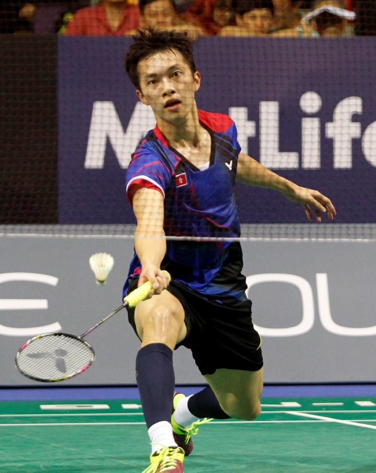 Singapore Open 2016 - Day 4 - Ng Ka Long of Hong Kong