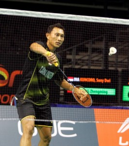 Singapore Open 2016 - Day 4 - Sony Dwi Kuncoro of Indonesia