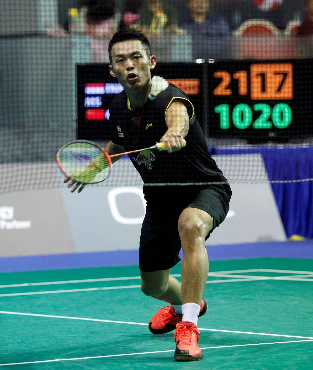 Singapore Open 2016 - Day 5 - Lin Dan of China