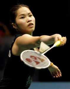 Singapore Open 2016 - Day 6 - Ratchanok Intanon of Thailand