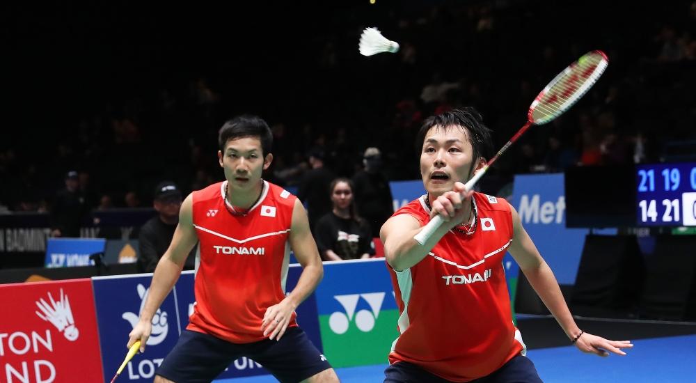 Takeshi Kamura & Keigo Sonoda
